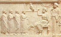 Αναθηματικό ανάγλυφο που βρέθηκε στην Πάτρα